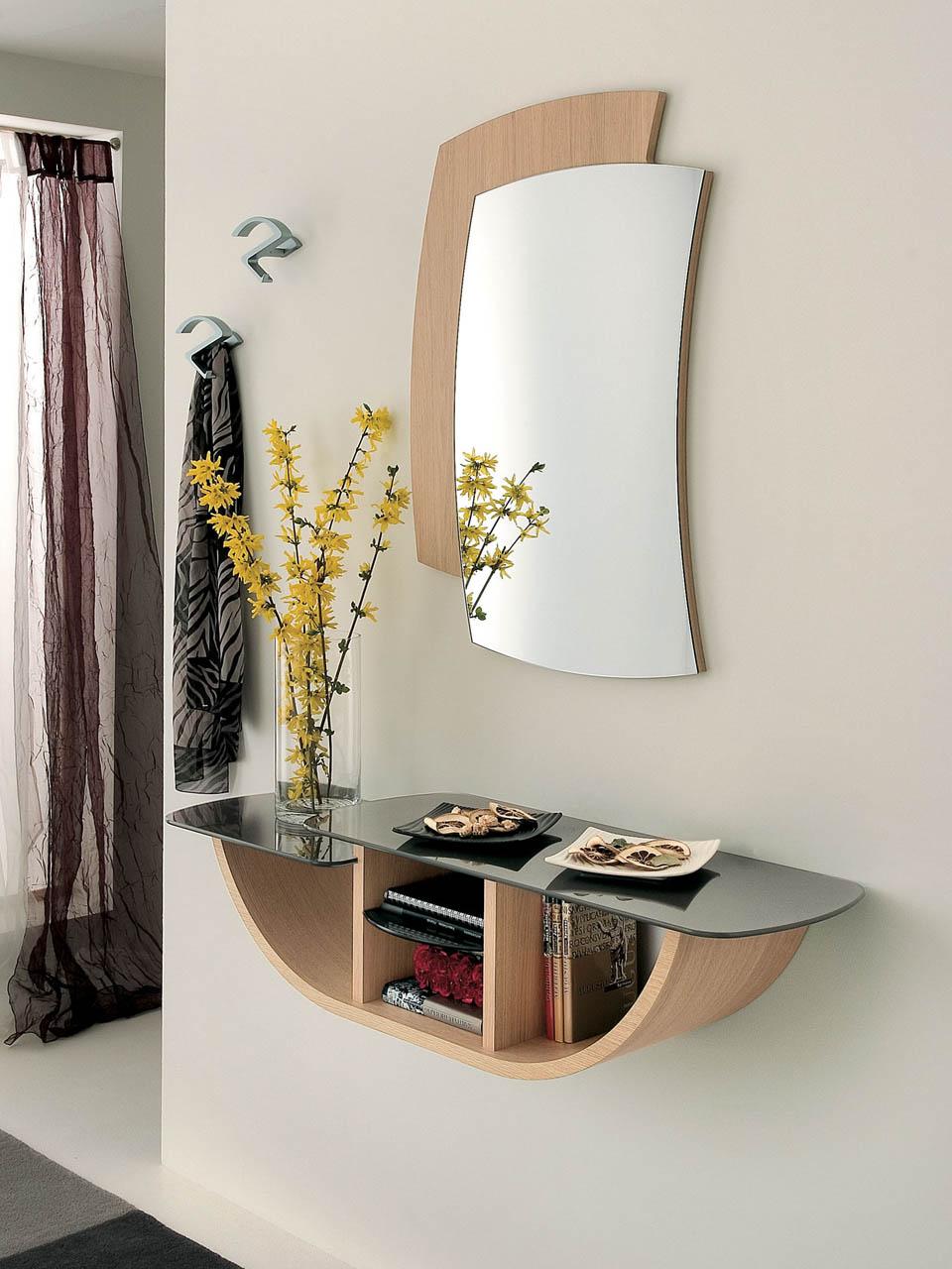 Ingresso Moderno con Specchio La Primavera Gondola (consolle B)