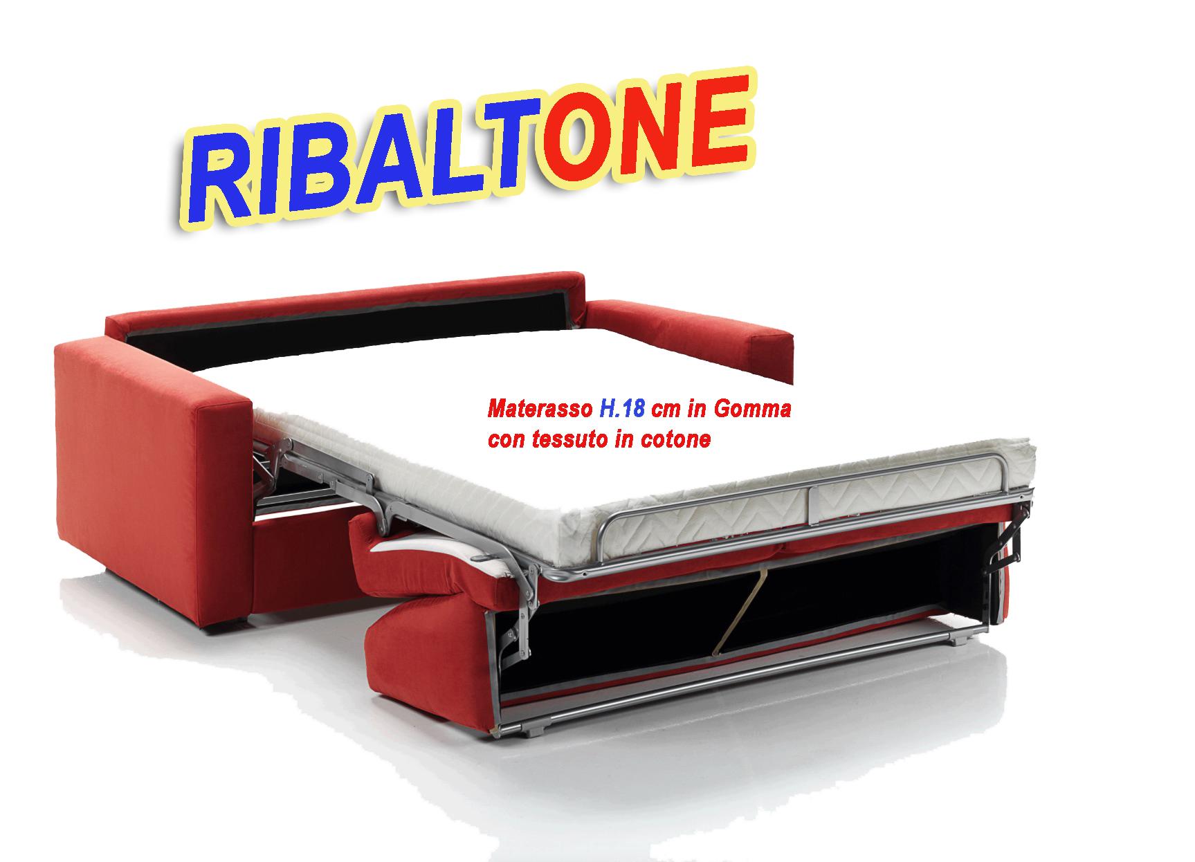 Divano Letto Trasformabile RibaltOne con Materasso H18 € 789.00 ...