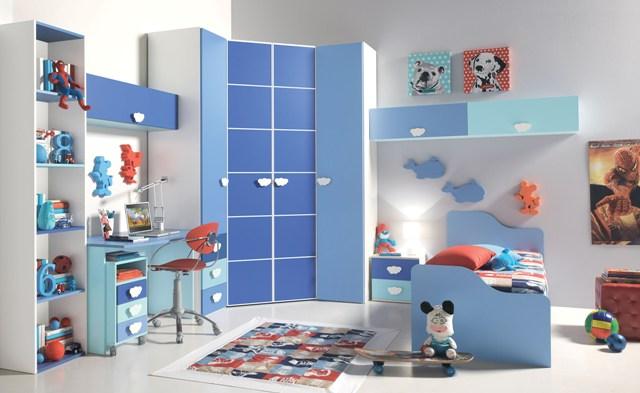 Cameretta con cabina armadio per ragazzi tutto mobili arredamento camere cucine ufficio roma - Cabina armadio per cameretta ...