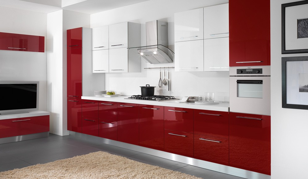 cucine moderne colorate  canlic for ., Disegni interni