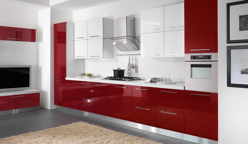 - Cucine colorate moderne ...