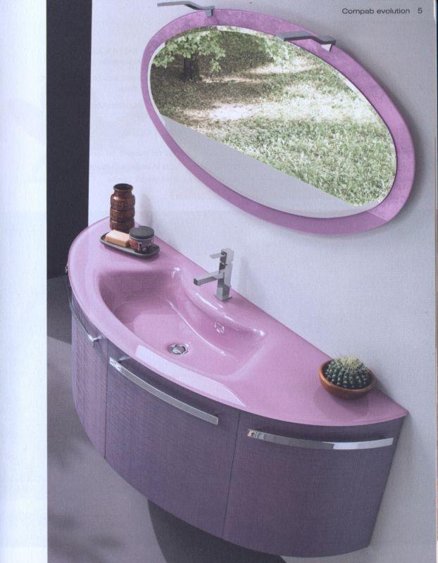 Arredo Bagno Color Glicine ~ Ispirazione Design Casa
