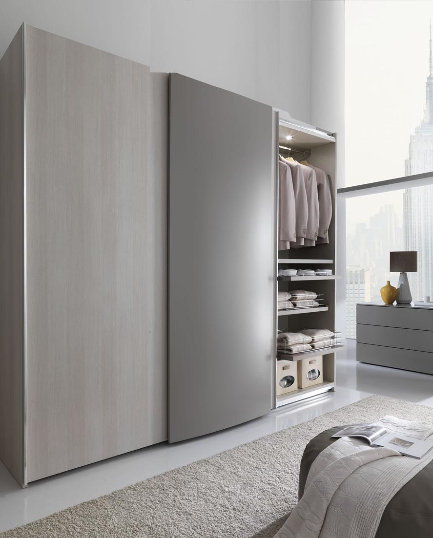 Scorrevole anta curva tutto mobili arredamento camere cucine ufficio roma - Mobili giessegi ...