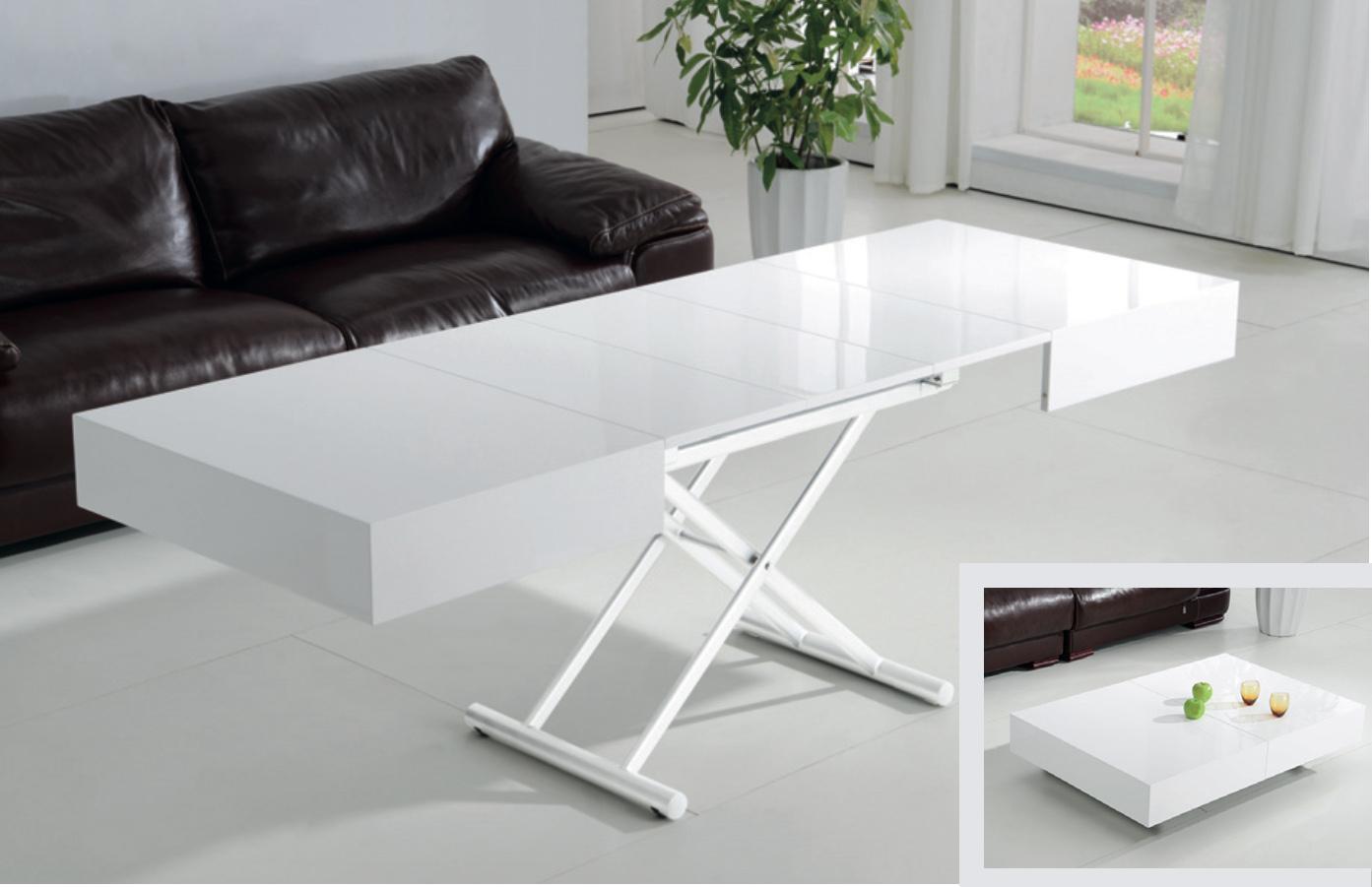 Tavolino da salotto trasformabile smart tutto mobili - Tavolo moderno sedie antiche ...