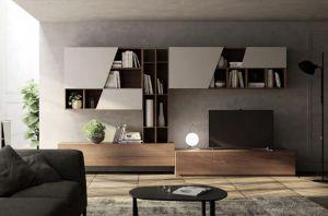 Soggiorno Living Moderno Giessegi - Comp.506 € 1520.00 ...