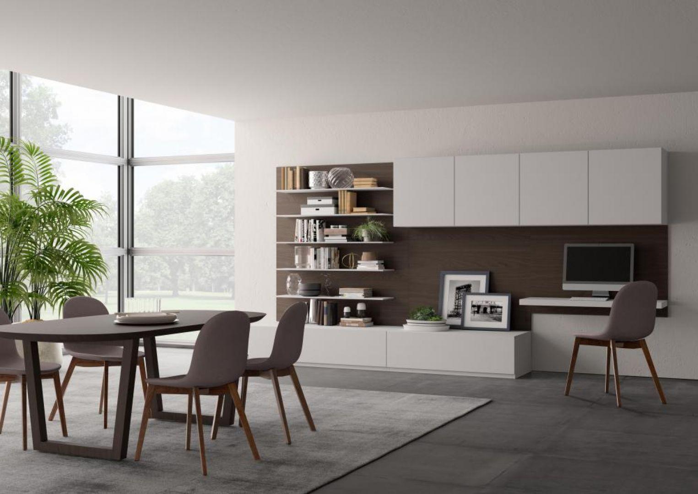 Soggiorno Living Moderno Giessegi - Comp.569 € 1690.00 | Tutto ...
