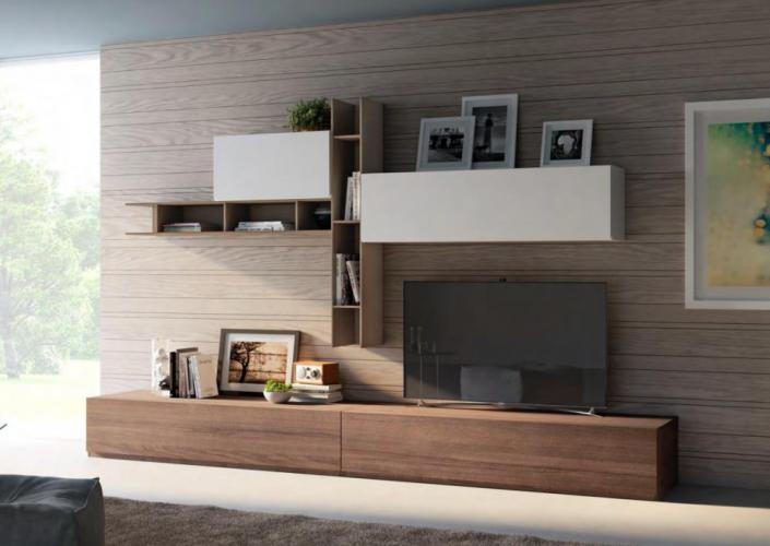 Soggiorno Living Moderno Giessegi - Comp.517 € 1360.00   Tutto ...