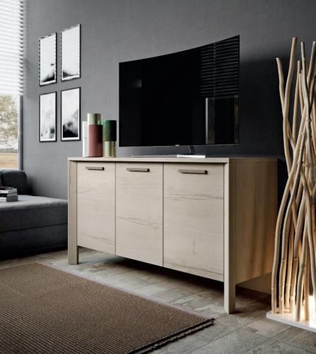 Madia Moderna Porta TV in Rovere Imab Tropea - Mod.1 € 440.00 ...