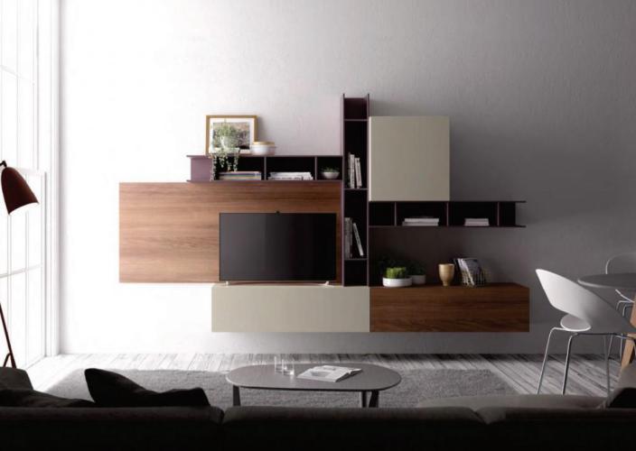 Soggiorno Living Moderno Giessegi - Comp.509 € 830.00   Tutto Mobili ...