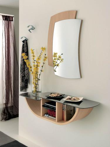 Ingresso Moderno con Specchio La Primavera Gondola (consolle B ...
