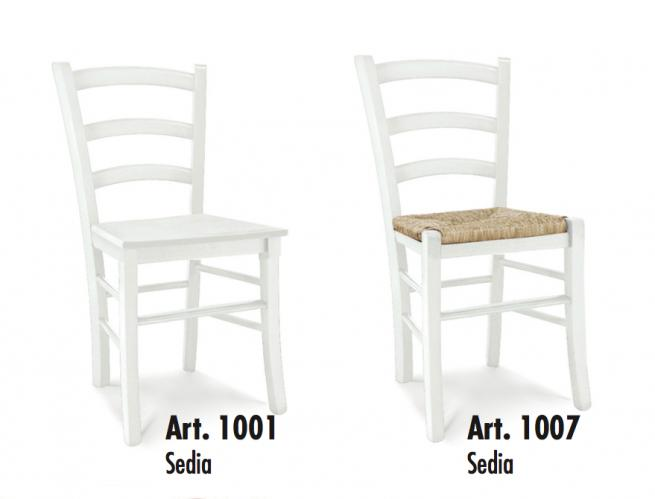 Arredo Ufficio Legno Massello : Sedia classica in legno massello di faggio sagomato seduta in paglia