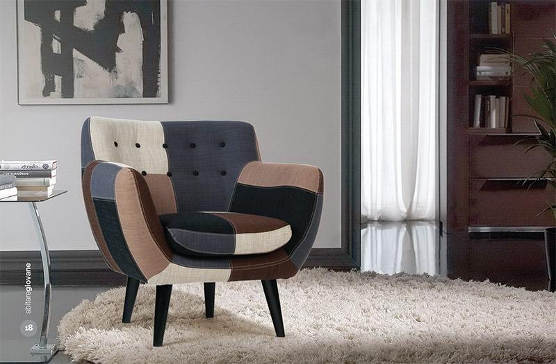 Poltrone poltroncine tutto mobili arredamento camere for Poltrone ufficio roma