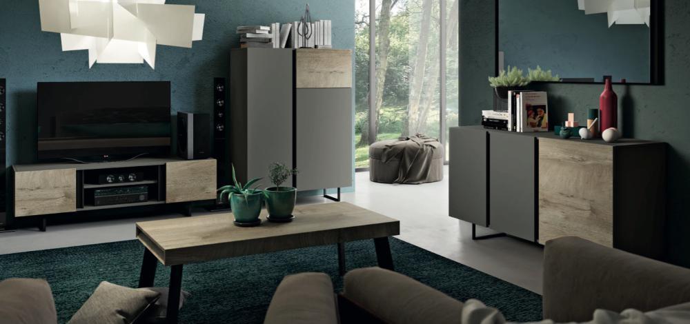 Sale moderna favignana imab tutto mobili arredamento - Soggiorno moderno roma ...