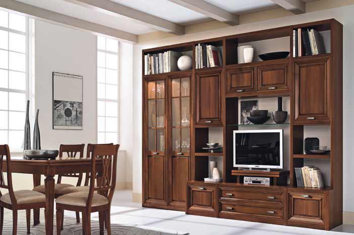 Soggiorno classico murano maronese tutto mobili arredamento camere cucine ufficio roma - Mobili soggiorno classico ...