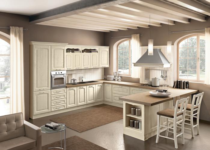 Cucina Lucrezia Landini € 3740.00 | Tutto Mobili, arredamento camere ...