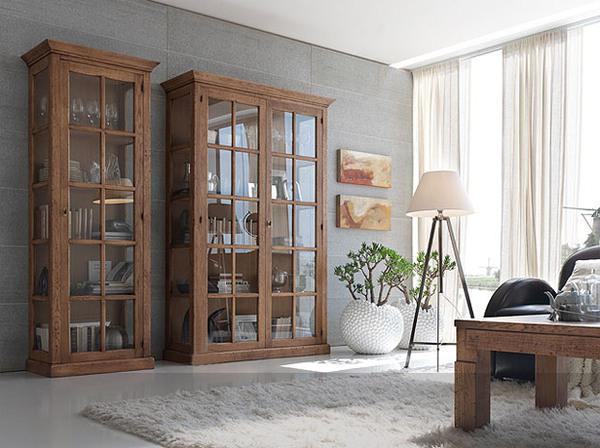 Soggiorno contemporaneo tutto mobili arredamento camere for Arredamento vetrine