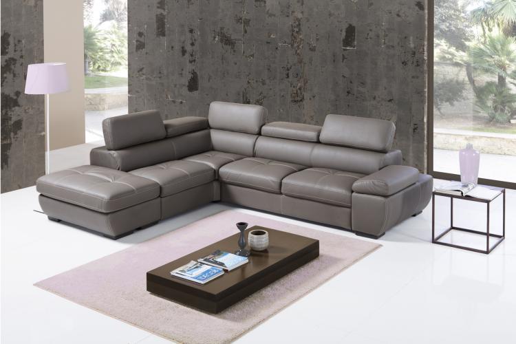Svendita divano letto contenitore angolare outlet ecopelle - Divano letto pronta consegna ...