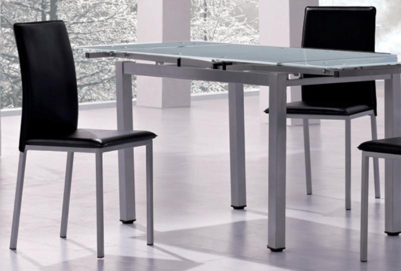 Sedia Contract Moderna Elegante in Metallo e Ecopelle Laura € 45.00 ...