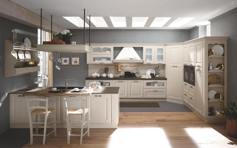 Cucine classiche tutto mobili arredamento camere cucine ufficio roma - Cucine eleganti moderne ...