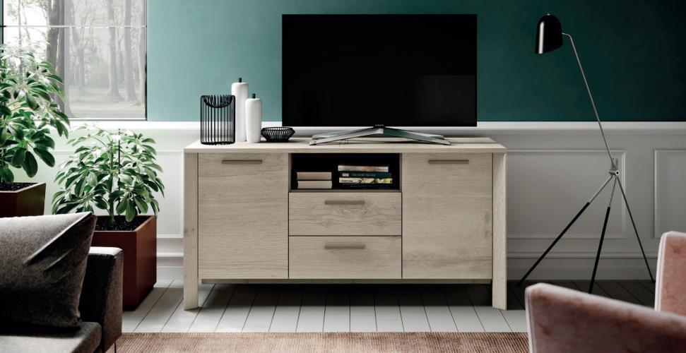 Madia Moderna Porta TV in Rovere Imab Tropea - Mod.2 € 440.00 ...